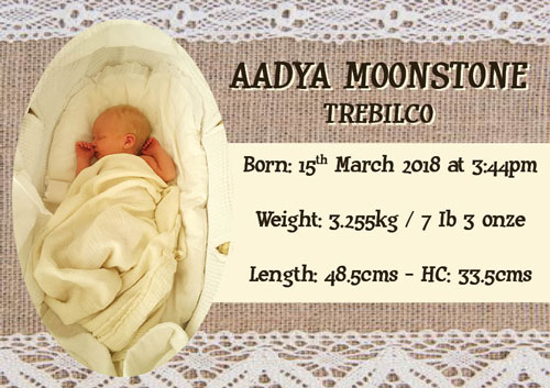 Welcoming Aadya – A new life chapter
