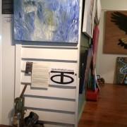 Sunshine Coast Gallery Owner-Artist - Darren Trebilco artwork ' Apparition of Deer' can be viewed at Solitude Art Gallery Glenview QLD