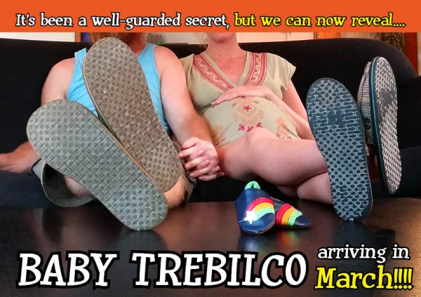 BABY ANNOUNCEMENT - PERS