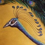 DARREN TREBILCO - THE VISITOR - HEAD DETAIL - SOLITUDE ART GALLERY - 163 Glenview Road Glenview QLD 4553