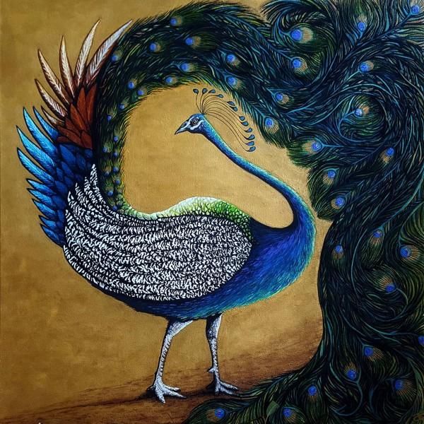 DARREN TREBILCO - THE VISITOR - SOLITUDE ART GALLERY - 163 Glenview Road Glenview QLD 4553