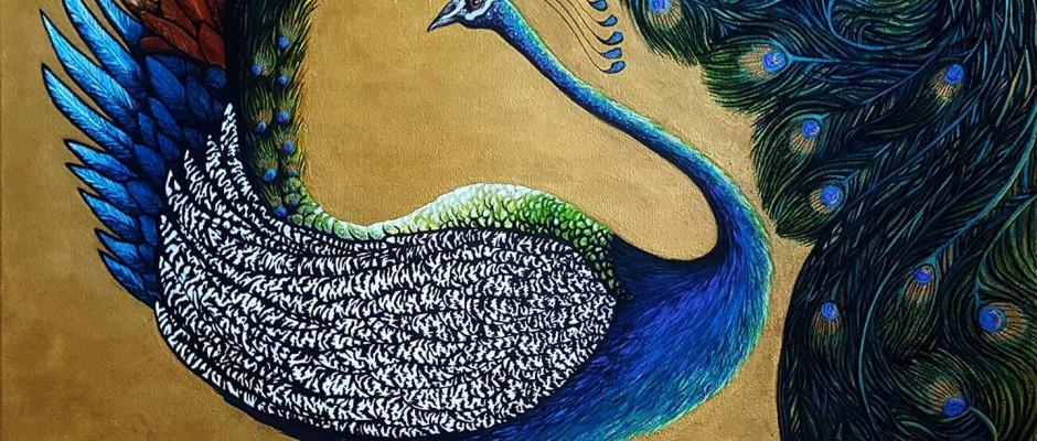 THE VISITOR – DARREN TREBILCO'S LATEST ARTWORK