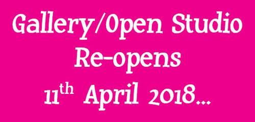 Gallery / Open Studio Reopens