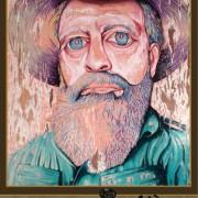 HAT FITZ - BEARDED BLUES - Darren Trebilco 2014 Archibald Portrait entry