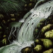 Kirk Pengilly - Portrait 2 Artist Darren Trebilco river cascades