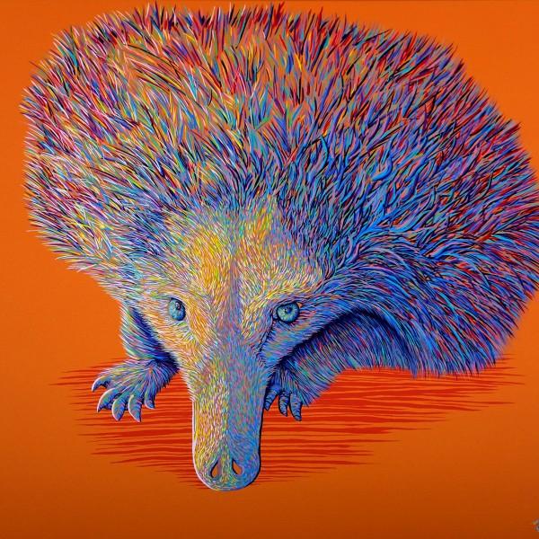 LORETTA by Sunshine Coast Artist Darren Trebilco