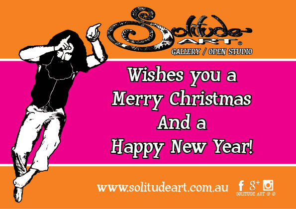 Merry Christmas and a Happy New Year from the Solitude Art Gallery...