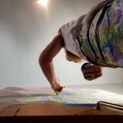 MOMENTUM - Artist Darren Trebilco different perspective