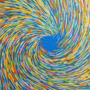 MOMENTUM - Artist Darren Trebilco - Zooming away from the eye to see further detail