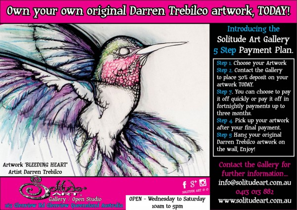 Own your own original Darren Trebilco