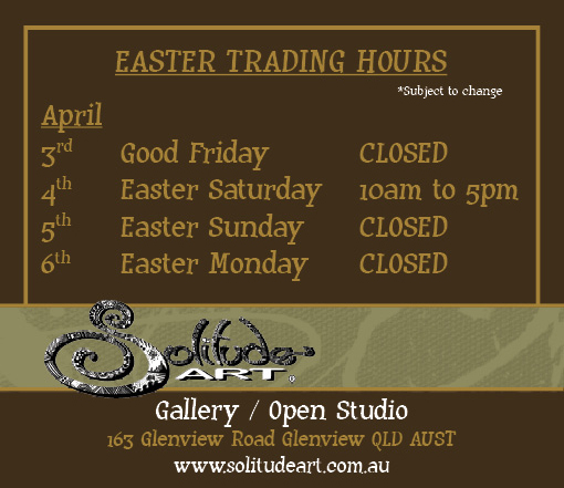 Solitude Art Gallery Easter Trading Hours