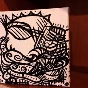 SUNSHINE COAST ARTIST DARREN TREBILCO'S SUNKEN TREASURE ON DISPLAY AT SOLITUDE ART GALLERY