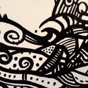 SUNKEN TREASURE UPCLOSE DETAIL BY ARTIST DARREN TREBILCO