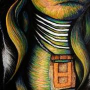 THUNDER CLOUD WARRIOR NECK ARTIST DARREN TREBILCO