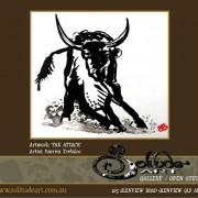 YAK-ATTACK - Darren Trebilco Artist Painter Sunshine Coast