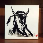 YAK-ATTACK - Darren Trebilco Artist at Solitude Art Gallery