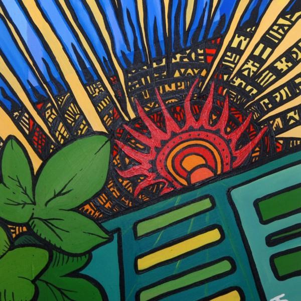 Darren Trebilco Painting - A New Dawn Approaching