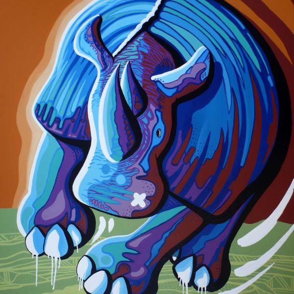 Darren Trebilco Painting - Brutus