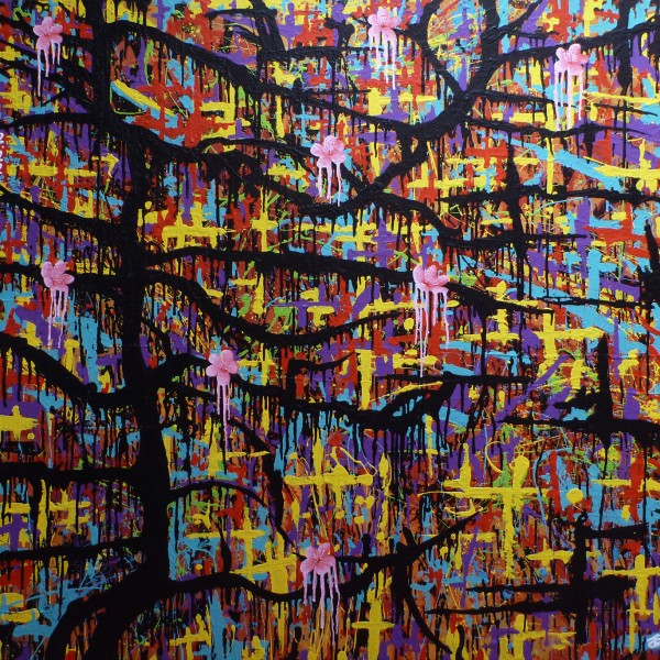 cherry blossom - Darren Trebilco Solitude Art Gallery