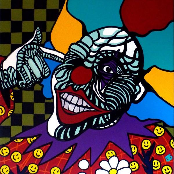 Giggles - Darren Trebilco Solitde Art