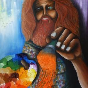 Darren Trebilco Painting - Acceptance